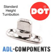 DOT GENUINE COMMON SENSE TURNBUTTON BOAT CANOPY COVER FASTENERS MARINE GRADE